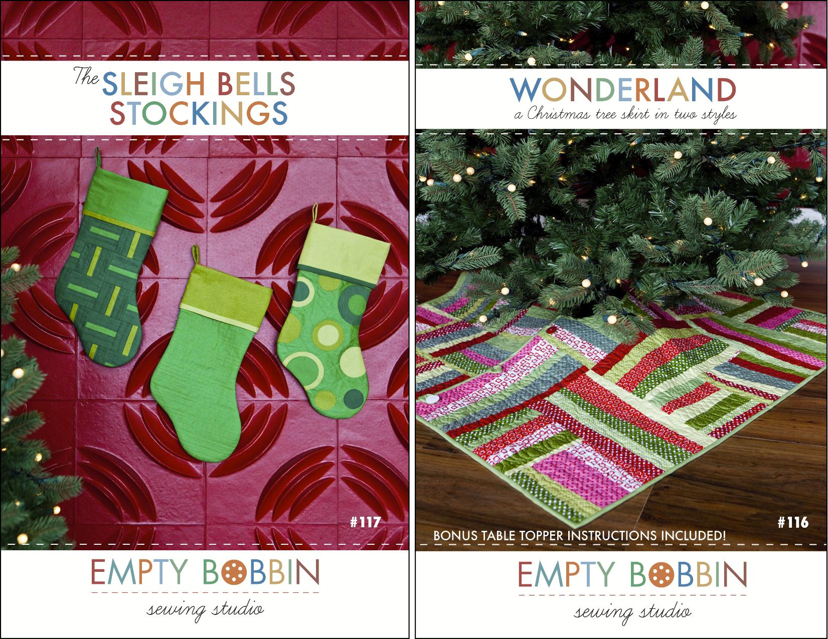 Stocking Tree Skirt Pattern